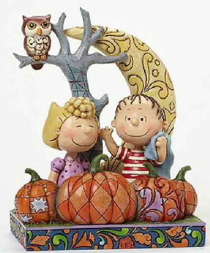 Jim Shore Snoopy Peanuts Halloween Pumpkin Patch #4042374 new in box