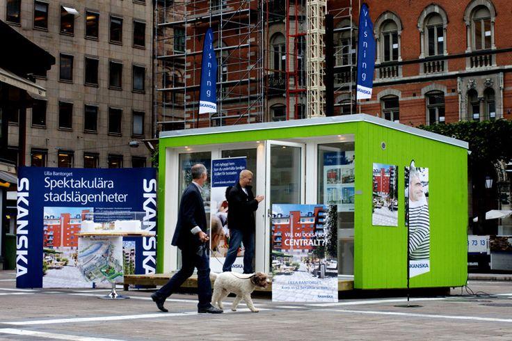 Mobile office - Enkelrum E15