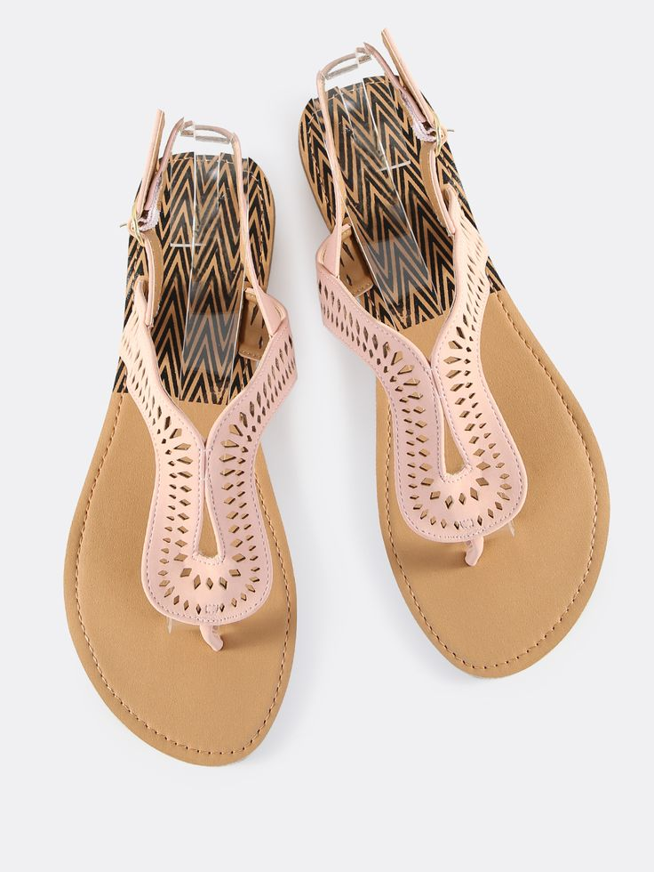 Shop Cutout Loop Thong Sandals BLUSH online. SheIn offers Cutout Loop Thong Sandals BLUSH & more to fit your fashionable needs.