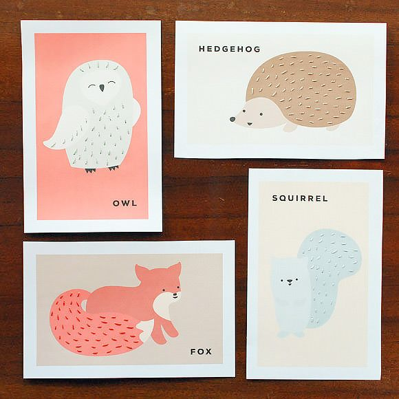Great list of indoor snow day activities with kids including these free printable sewing cards