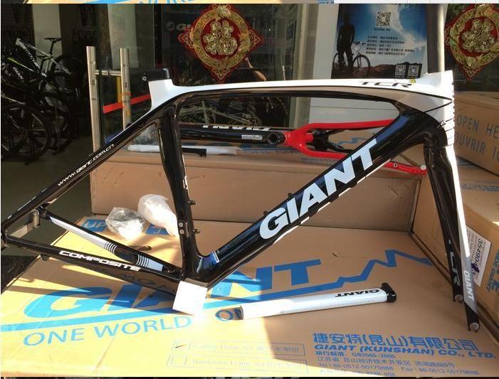 GIANT TCR zložený z uhlíkových vlákien cestný bicykel rám 26er MTB rám 83 kolo rám tuk kolo carbon cestná rám