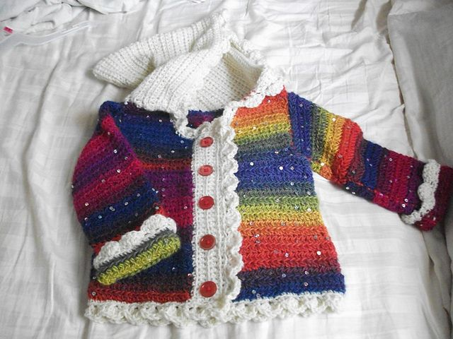 1051 best Crochet Baby Sweaters images on Pinterest | Crochet baby ...