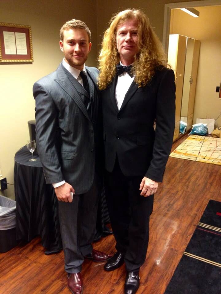 Dave & Justis Mustaine