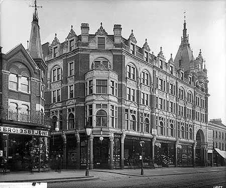 Jones Brothers, 346-366 Holloway Road, Oct 1892