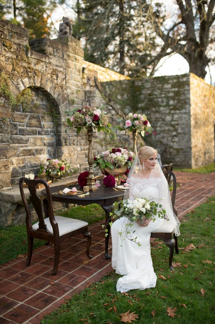 148 best classic elegant wedding style images on pinterest blush romantic elegant red wedding ideas junglespirit Image collections