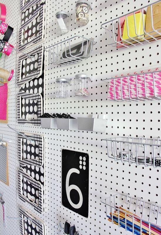Create a Peg Board Wall