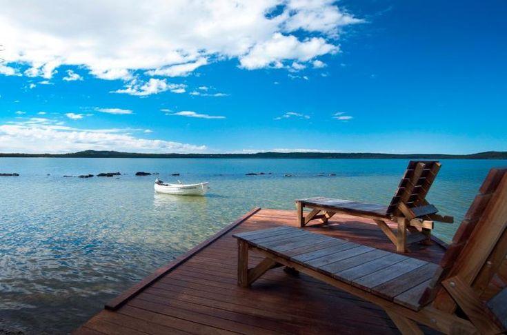 "Luxury Lakehouse ""Gooloowaa"", Eumarella Shores Noosa Lake Retreat, Sunshine Coast. Spa bath, views, privacy. $275 per night."