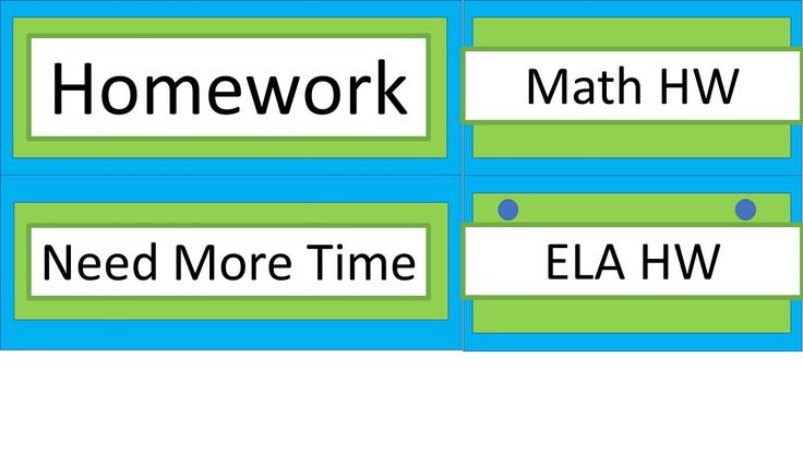 """For anyone who wants to have students turn in their homework by subject (instead of turning in all their homework into one single basket), I have included labels for each subject as well as labels for """"Homework"""" and """"Need More Time.""""  Each label can be hole-punched and hung with binder rings from your homework tray/basket(s)."""