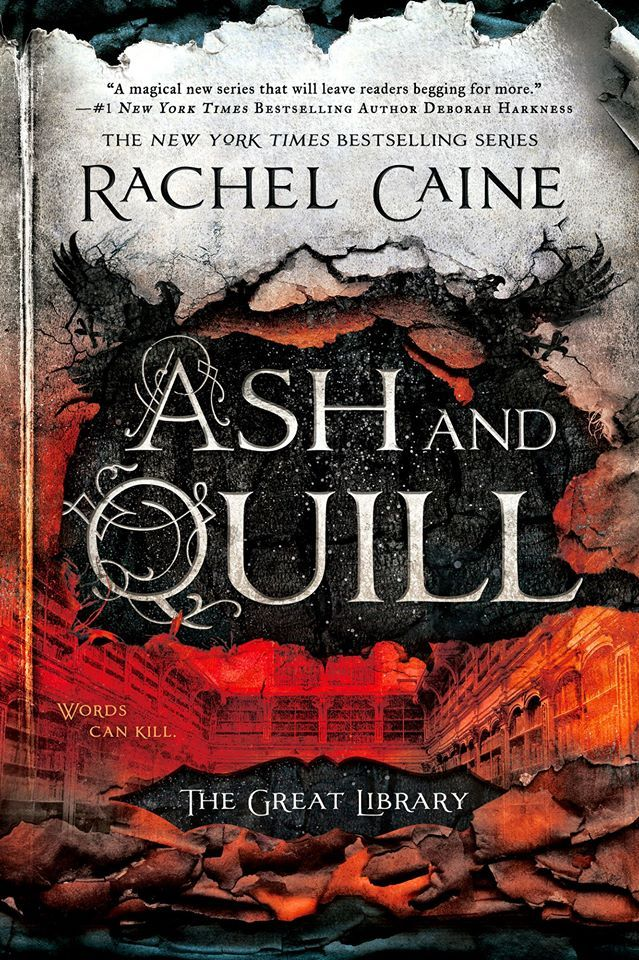 Ash and Quill (The Great Library #3) by Rachel Caine