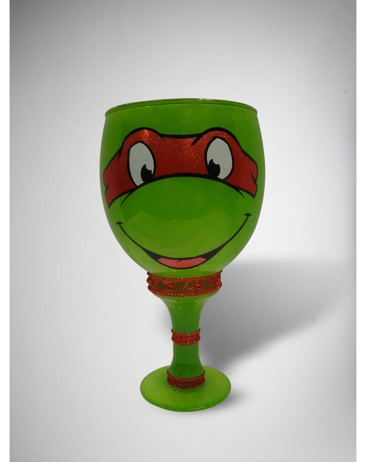 Teenage Mutant Ninja Turtles Glitter Pimp Cup  Totally want one! I'd use it for my wedding BAHAHAHA!