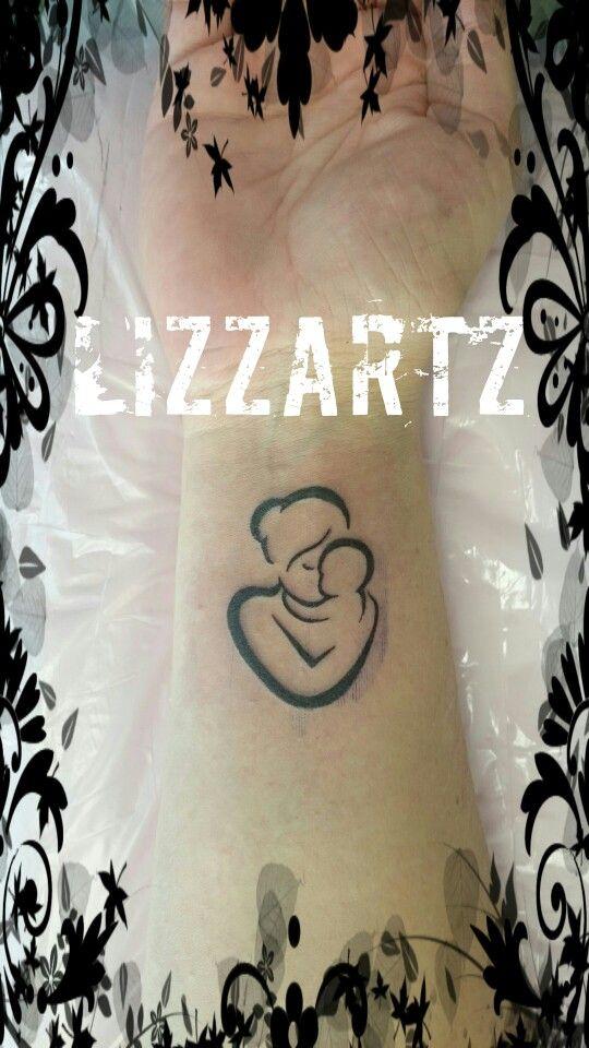Moeder dochter Tattoo