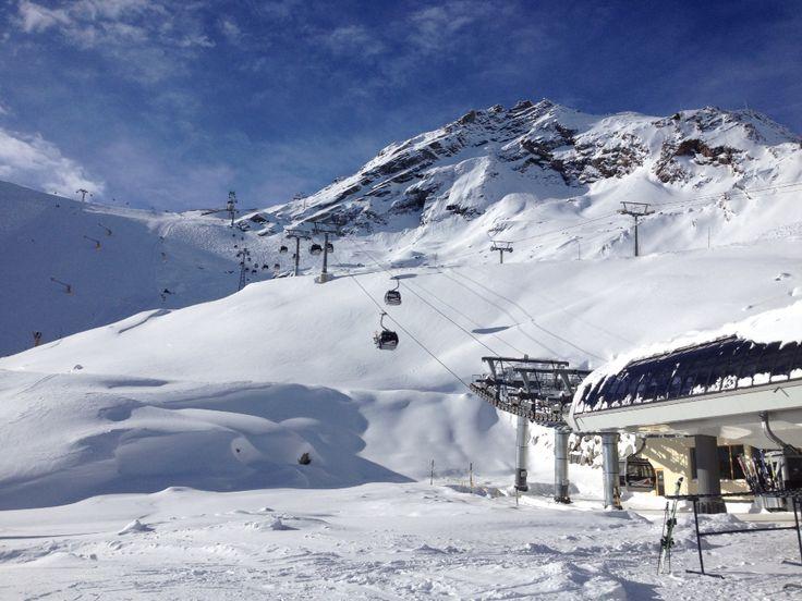 Soelden Rettenbach Gletscher. 11.2014