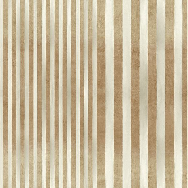 Elitis Tempo Carioca Wallpaper - TP 220 02 ($280) ❤ liked on Polyvore featuring home, home decor, wallpaper, brown, stripe wallpaper, browning wallpaper, gradient wallpaper, striped wallpaper and brown striped wallpaper