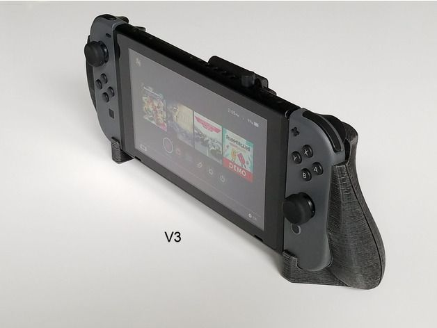 If you have access to a 3d printer I highly recommend this grip if you get hand cramps in handheld mode. http://bit.ly/2lnzap3 #nintendo