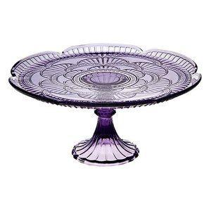Godinger Marcella Amethyst Cake Plate