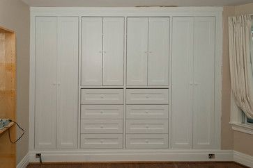 Wall Of Closets Design Ideas, Pictures, Remodel, and Decor - page 15