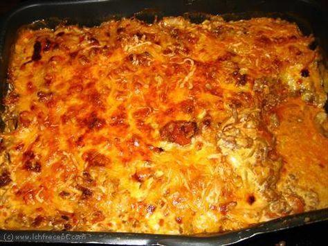 LCHF-Recept: Köttfärs- och vitkålsgratäng