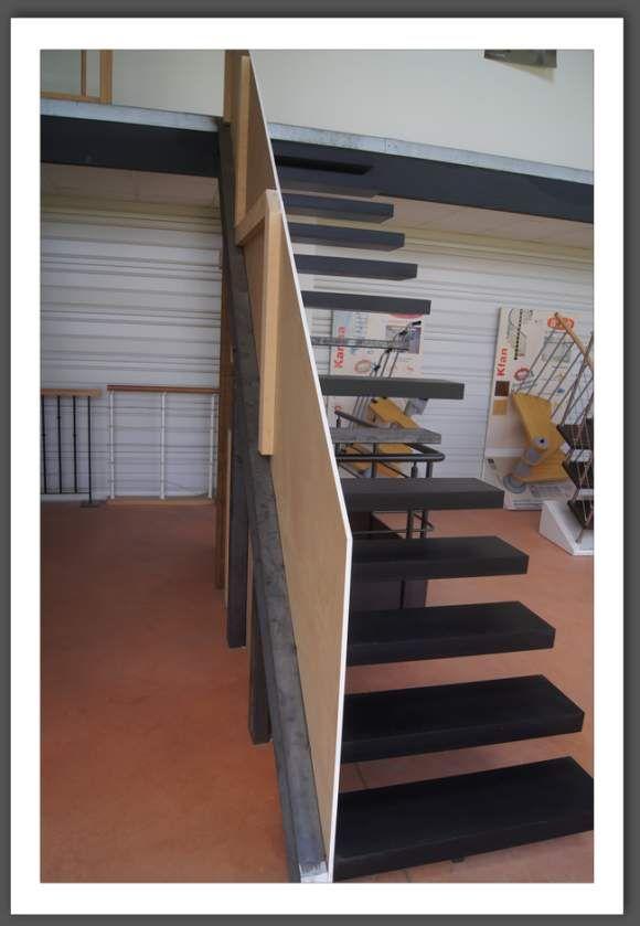 les 25 meilleures id es concernant escalier flottant sur. Black Bedroom Furniture Sets. Home Design Ideas