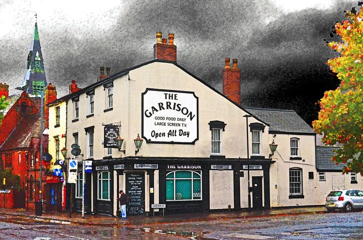 "The Garrison Pub – Home of the ""Peaky Blinders"" | The Garrison Pub, Small Heath, Birmingham. Photo Digital Art"