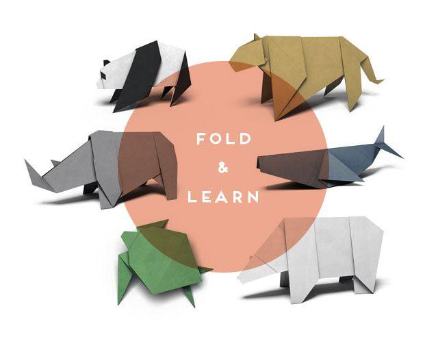 WWF Animal Origami #DIY