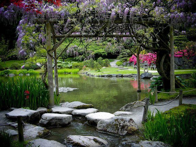 Best Garden Japanese Japanese Countryside Images On Pinterest