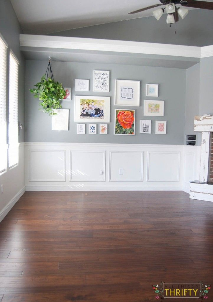 Flooring REVEAL! Home Legend Barrett Distressed Hickory from The Home Depot