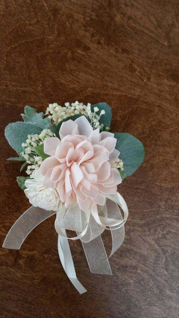 Wedding, Corsage, Sola Wood Corsage,Corsage, Ivory Cream Corsage, Mothers pin on corsage, Sola pink corsage, corsages