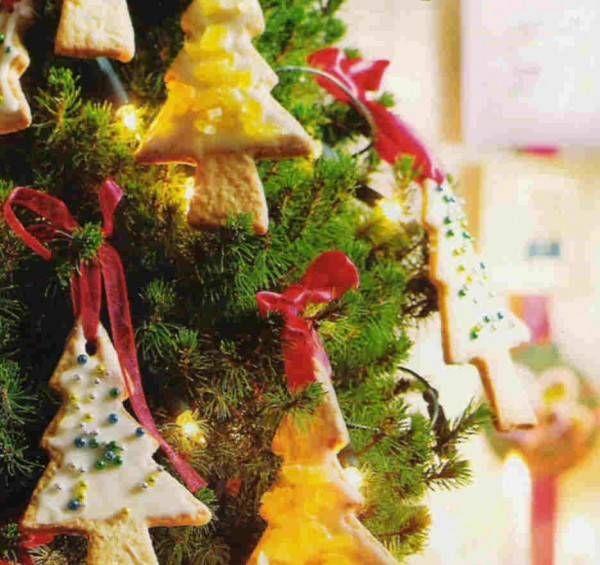 Kerstboomkoekjes