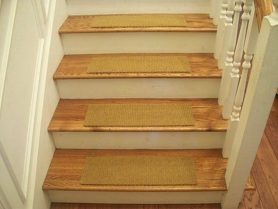 Essential Carpet Stair Treads Style Berber Color Natural Size 24 X 8 Sets Of 4 7 13 Or In 2020 Carpet Stair Treads Stair Treads Carpet Treads