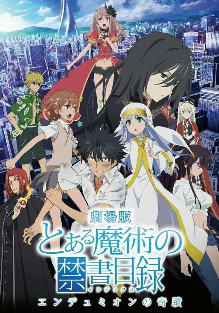 Toaru Majutsu No Index Season 3 On October 2018 Can T Wait Anime Films Anime A Certain Magical Index