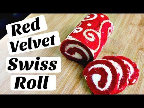 Red Velvet Swiss Roll - YouTube