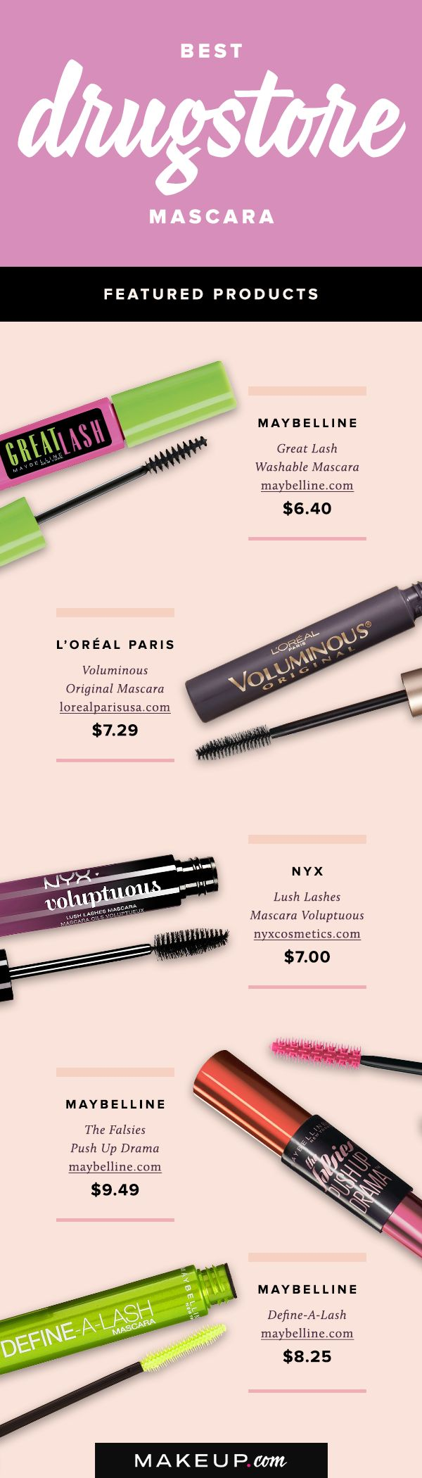 Luxury mascaras are great, but don't underestimate the power of a good drugstore mascara! From Maybelline to NYX, these are the best affordable drugstore mascaras that your lashes will love.