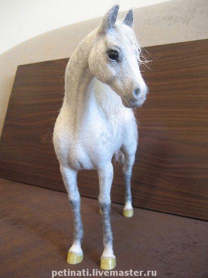 """Игрушки животные, ручной работы. Ярмарка Мастеров - ручная работа валяный конь""""Терец""""(цена в описании). Handmade."""
