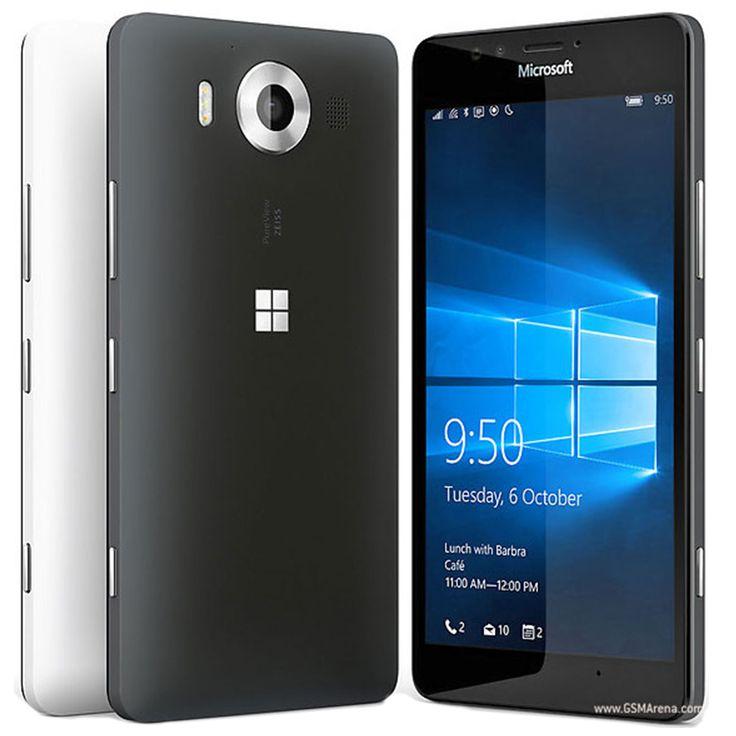 "Only US $154.55 100% Original Microsoft Lumia 950 20MP Camera NFC Quad-core 32GB ROM 3GB RAM mobile phone LTE FDD 4G 5.2"" 2560x1440 pixels"