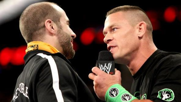 """The last """"WWE RAW"""" before """"Elimination Chamber"""" featured a show-stealing match between John Cena and Cesaro, plus double duty from Daniel Bryan."""