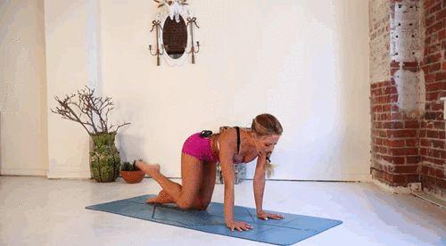 Elige mínimo 4 ejercicios al día   – Haz 3 repeticiones de 15 movimientos