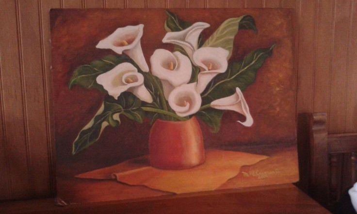 Una obra de la artista S. Caceres
