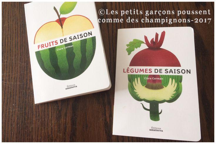 C'est important de sensibiliser les enfants aux fruits et aux légumes de saison. Commencez tôt, découvrez deux livres parfaits avec des volets à soulever.