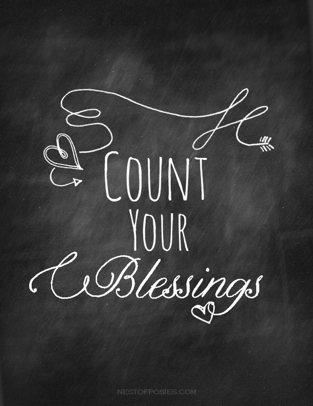 ❥ Count Your Blessings all the time !!! That is how more good comes to you.