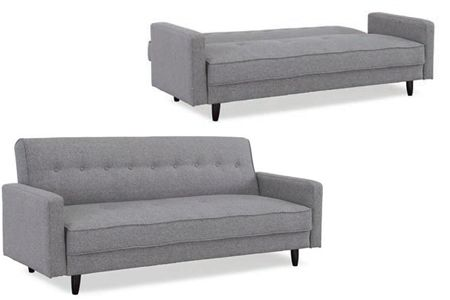 This is the best looking futon I have ever seen, might get this instead of a sofa bed.