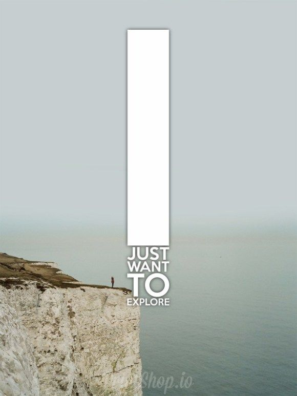 I just want to explore....  #poster