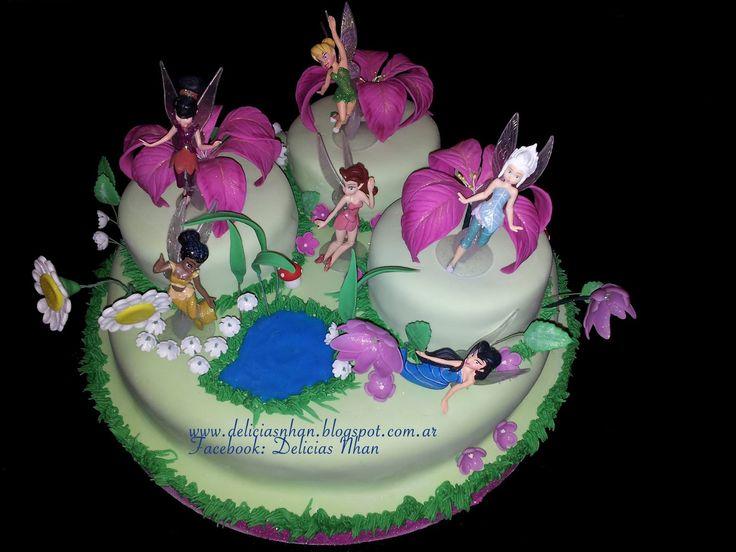 Nhan: Torta Tinkerbell y las hadas!!!