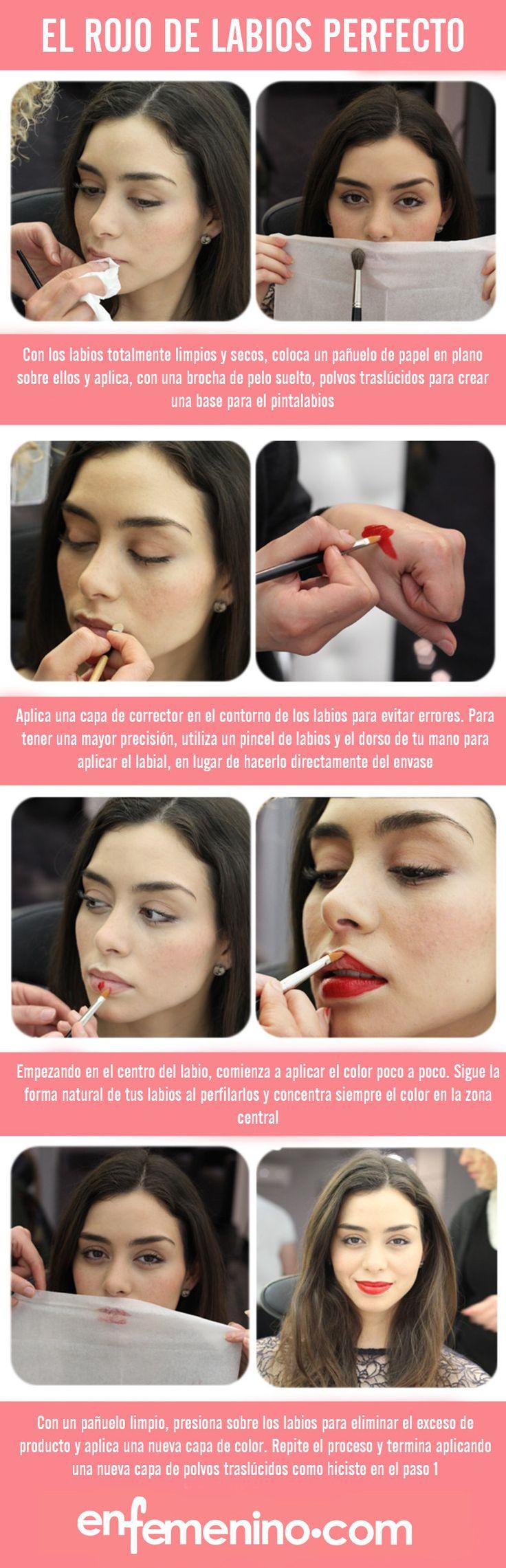 Cómo llevar el rojo de labios perfecto #maquillaje #beautytips ⭐️ #ClassyLadyEntrepreneur ⭐️ www.DebbieKrug.com