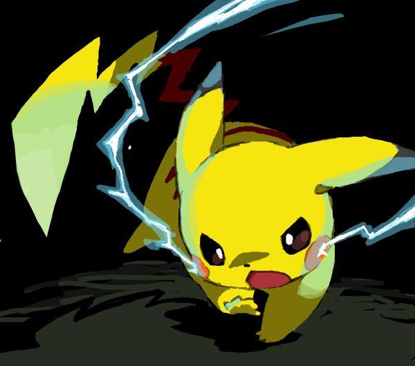 Pikachu Uses Thundershock | Funny, random, awesomeness ...