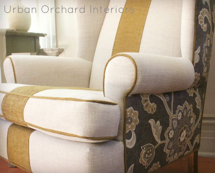 17 Best Images About Wing Chair Ideas On Pinterest Upholstery Queen Anne A