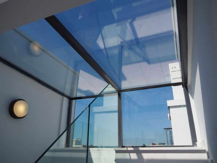 Sky View Only with Three Wall Box of Glazing Vision