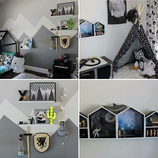 Black And White Loft Bedroom Bedroom Decorating Ideas Diy Paint Colors For Bedroom Bedroom Curtains Kmart: 320 Best Images About Kid's Room On Pinterest