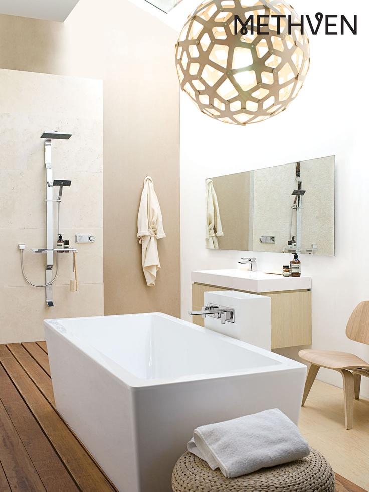 Tahi shower system with Kiri tapware
