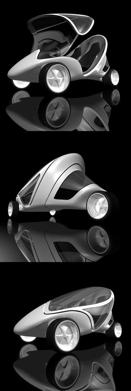 Z.Car concept vehicle, 2006 by Zaha Hadid