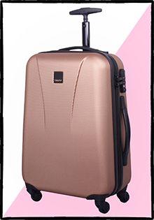 Tripp Luggage, luggage, Debenhams Luggage, fashion, travel, metallic, rose gold, copper